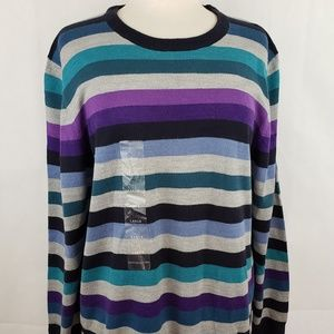 🔵5/$50🔵 Argyleculture Russell Simmons Sweater L